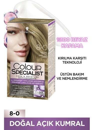 Colour Specialist Colour Specialist Doğal Açık Kumral 8.0 Saç Boyası Kahve